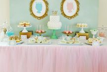 Baptism Ideas Twins Dessert Tables