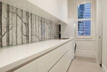 Printed Kitchen Glass Splashbacks / Printed Glass Splashbacks can instantly transform your kitchen look from old and dated or new but boring into this ultra modern kitchen with feature focal point. It's functional arty piece of a great quality. Small investment to make a big change!