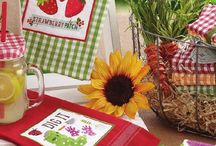 DECORATIVE SEWING AND CRAFT / BAGS - APRONS - TABLE CLOTH - KITCHEN AND ROOM DECORATIONS