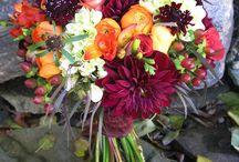 Purple Burgundy Orange Weddings