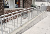 Railings / Commercial and residential steel or aluminum railings from around the Philadelphia area and beyond.