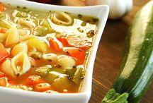 Fogyós levesek és ételek