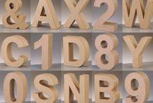 Объёмные буквы и цифры