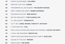 Playlists / by Jessica Burke