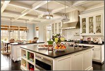 kitchen islands & dream kitchens