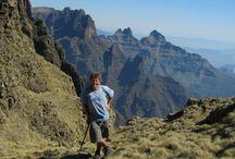 Mountain Passes of the Drakensberg
