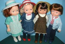 "Fisher Price My Friend Dolls / This includes ""lap-sitters"" as well. / by Linda Sikkema"