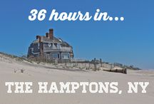 A weekend in NYC and The Hamptons