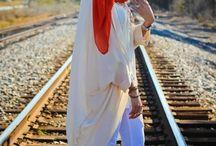 dresses and hujaab