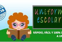 """Uniformes Escolares Online / Nuestro objetivo es ayudarte a simplificar la compra de los uniformes escolares de tus hijos. """"El Patio de mi Cole"""" es una manera sencilla, cómoda, rápida y económica de resolver este trámite sin moverte de la silla."""