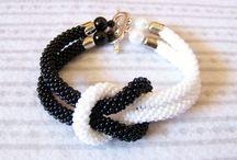 Bead crochet / wężowe bransoletki i nie tylko bransoletki