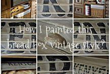 Technika - bútorfestés, bútorkészítés (Furniture Painting and Making)