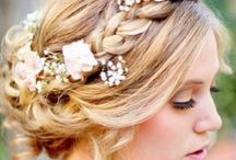 Grecian Hair & Make Up for The Wedding