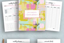 Planner inserts / Shop printed and printable inserts for your personal size planners and A5 planners. Compatible with Filofax, Kikki K and all other 6 ring standard binders