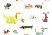 Dog illustration inspiration