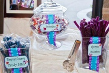 Pink | Purple | Turquoise Candy Buffet