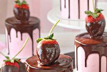 Mini cake φράουλα