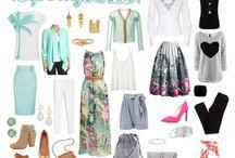 Seasonal Suggestions / Wardrobe inspiration by season