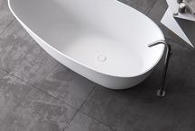 ARK / Bathe in luxury with our stunning freestanding Ark bathtub. Completely casted out of Solid Surface in one piece. As a result it has the thinnest edge possible of only 15mm, bringing instant elegance to the bathroom environment. With plenty of space underneath for the drainage system, so no digging holes during installation. Our asymmetrical Ark bathtub completes any bathroom.