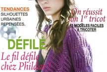 Phildar catalogues