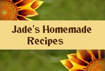 Jade's Homemade Recipes / Want to know how to make everything from scratch?  We have it, from ketchup to plum pudding!