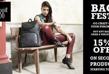 Our Rocking Bag Fest is here!!! / Baggit Presents an Awesome Bag Fest .... Buy any bag and grab a whopping 15% off on your second product ,offer is valid till 27th April 2014 at all Exclusive Baggit stores. Simply go crazy with your purchase T&C apply.