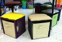 Crafts - Milk Crates / by Kristin Metts