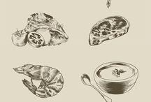 Illustrations cuisine