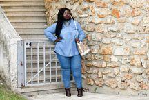 Passion denim / Le jean, cet indispensable du dressing. Retrouvez tous mes looks en denim ici ! www.gaelleprudencio.com #GallePrudencio