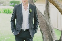 suiting / {for the groom}