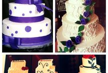 Cakes by Jacalyn Kelly (Events of Elegance) / Delicious Wedding Cakes by Jacalyn Kelly   / by Fox Valley Country Club