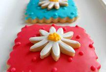 Μπισκότα ζαχαρόπαστας - Fondant cookies / Μπισκότα ζαχαρόπαστας