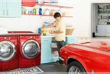 garage laundry area / by Candice Aguilar