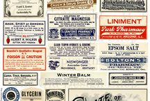 LABELS / (mostly) Vintage labels
