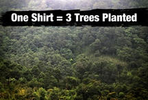 Help Plant Trees / We believe what matters most is what you do to help others.  You want to do something that matters?  We made it easy to help.  One shirt = three trees planted, one year of clean water, one animal saved or one month of education.  And the shirt is pretty rad, too.  http://cause.thisshirthelps.com/
