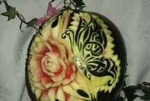 olenka / melon + arbuz
