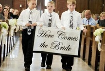 Ceremony {Send Off's & Cute Ring Bearers & Flower Girls}