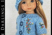 "Dolls Little Darlings Effner 13"""