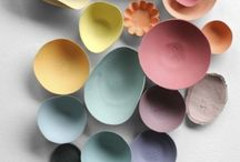 Pastel colors / Couleurs pastel / Different way to use pastel colors in interior decoration, home, items ...  / Différentes façon d'utiliser les couleurs pastel en décoration d'intérieur, maison et objets...