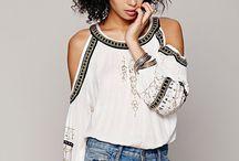 ш_Блуза_Cut-out shoulder / Cut-out shoulder — блуза с вырезами на плечах. Этот фасон по-своему демонстрирует плечи. Для таких блузок часто используется легкая, но и более плотные хлопковые модели можно найти в избытке. Плотные ткани лучше сочетать с джинсами или брюками casual, шифоновые и шелковые варианты также не плохо будут смотреться с узкими юбками.