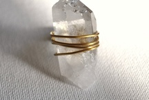 Jewelry: Wire wrapped rings
