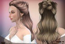 the Sims 4 cc capelli