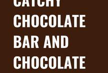 Chocolate Bar and Chocolate Slogans