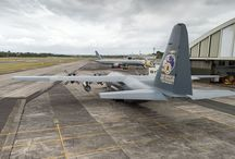 RNZAF C-130 Hercules reaches tremendous 50 year milestone / The RNZAF C-130 Hercules NZ7001 has been one of the Hercules providing support to Vanuatu following Cyclone Pam. Some people have noticed that this aircraft is sporting special new tail art celebrating the Hercules' 50 years of service with the RNZAF.