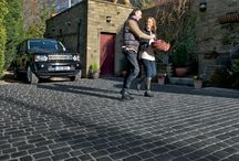 Driveway Block Paving from Marshalls / Marshalls have a wide range of products from natural stone setts to concrete block paving to transform your driveway.
