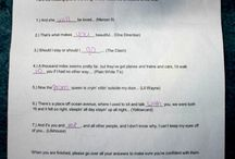 Answers to dates/dances / by JoLee Bottorff