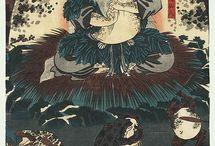 Ukiyoe- Japanese Woodblock Prints