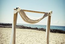 Beach Ceremony Styling / Ideas for how you can style your beach wedding ceremony