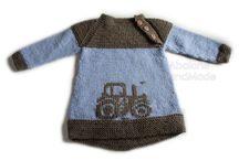 strikke barn