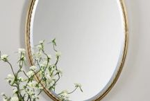 Beautiful Oval Mirrors / Oval mirrors with fancy frame that can be used in any room.